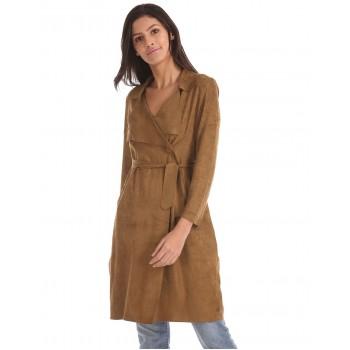 U.S. Polo Assn. Women Casual Wear Solid Coat