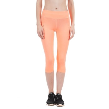 U.S. Polo Assn. Women Casual Wear Solid Gym Tight