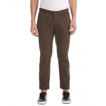 U.S. Polo Assn. Men Solid Casual Wear Trousers