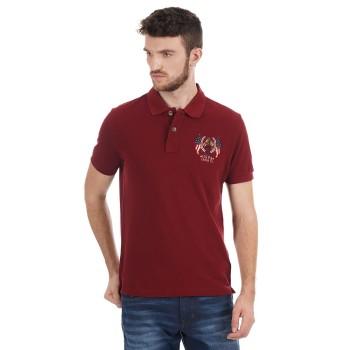 U.S. Polo Assn. Men Solid Casual Wear T-Shirt
