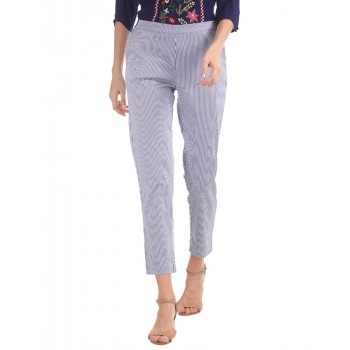 U.S. Polo Assn. Women Casual Wear Solid Trouser