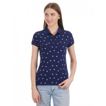 U.S. Polo Assn. Women Casual Wear Printed T-Shirt