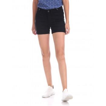 U.S. Polo Assn. Women Casual Wear Solid Short