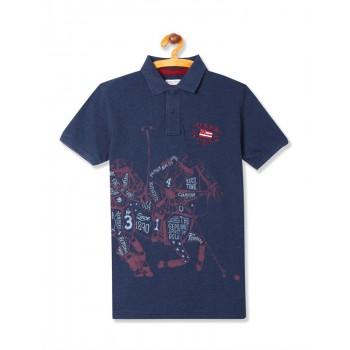 U.S. Polo Assn. Casual Wear Graphic Print Boys T-Shirt