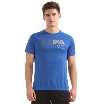 U.S. Polo Assn. Men Casual Wear Printed T-Shirt