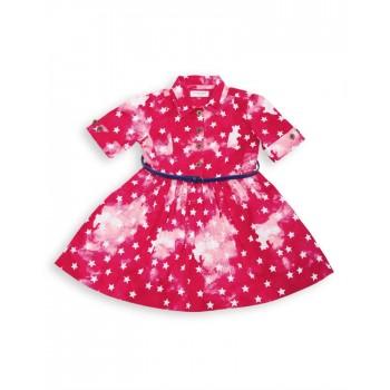 U.S. Polo Assn. Casual Printed Girls Dress
