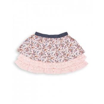U.S. Polo Assn. Casual Printed Girls Skirt