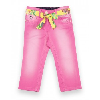 U.S. Polo Assn. Girls Casual Wear Solid Capri