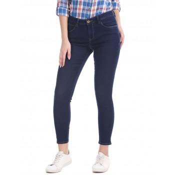 U.S. Polo Assn. Women Casual Wear Solid Jean