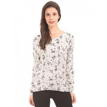 U.S. Polo Assn. Women Casual Wear Printed Top