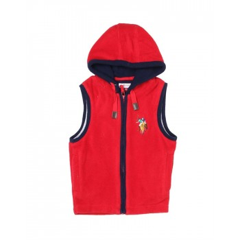 U.S. Polo Assn. Casual Wear Solid Girls Sweat Shirt