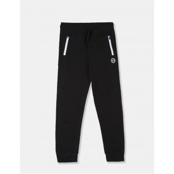 U.S Polo Assn. Girls Printed Pink Joggers