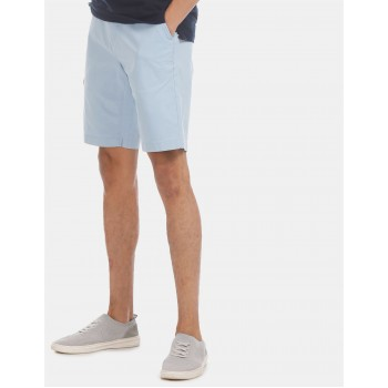 U.S. Polo Assn. Men Casual Wear Blue Shorts
