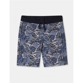 U.S. Polo Assn. Boys Printed Blue Shorts