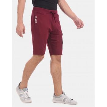 U.S  Polo Assn. Men Casual Wear Red Shorts