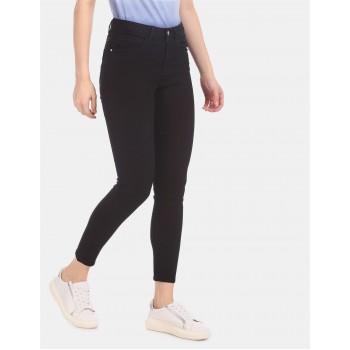 U.S. Polo Assn. Women Women Casual Wear Black Jeans