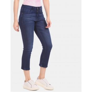 U.S. Polo Assn. Women Women Casual Wear Blue Jeans
