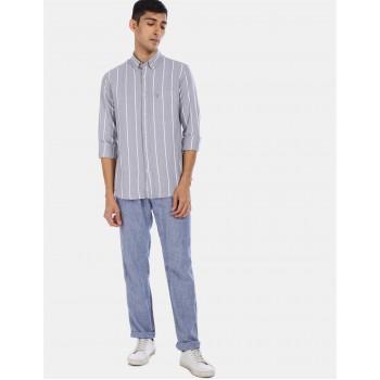 U.S Polo Assn. Men's Casual Wear Grey Shirt