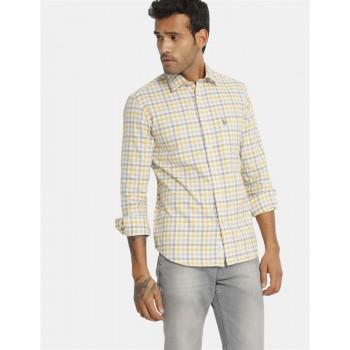 U.S Polo Assn. Men's Casual Wear Yellow Shirt