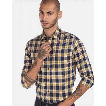 U.S Polo Assn. Men's Casual Wear Blue Shirt