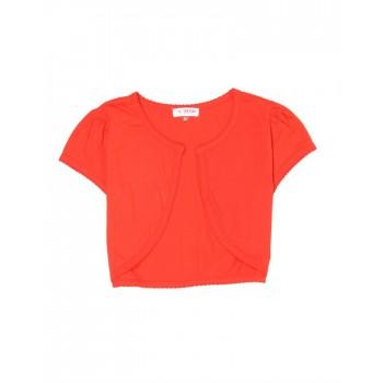U.S. Polo Assn. Casual Wear Solid Girls Shrug