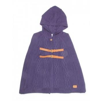 U.S. Polo Assn. Casual Wear Self Design Girls Sweater