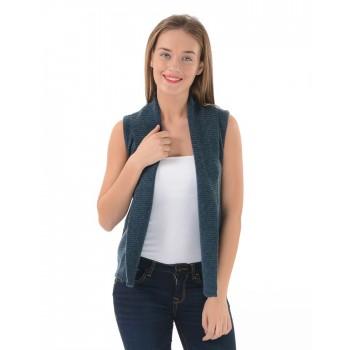 U.S. Polo Association Casual Wear Solid Women Sweater