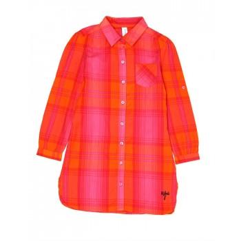 U.S. Polo Assn. Casual Wear Checkered Girls Dress