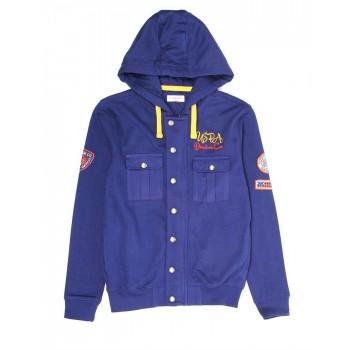 U.S. Polo Assn. Casual Wear Solid Boys Sweat Shirt