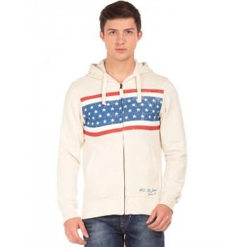 U.S. Polo Assn. Casual Wear Printed  Men Sweatshirt