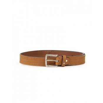 U.S. Polo Assn. Casual Wear Self Design  Men Belt