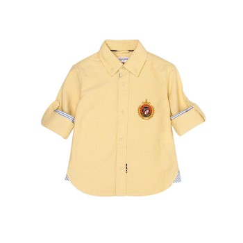 U.S. Polo Assn. Casual Wear Solid Boys Shirt