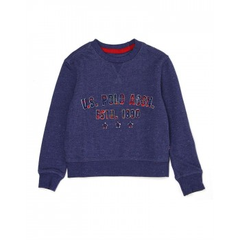 U.S. Polo Assn. Casual Wear Printed Boys Sweat Shirt