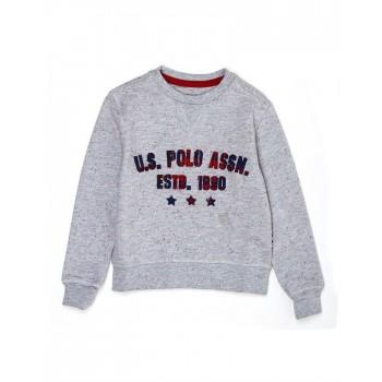U.S. Polo Assn. Casual Wear Applique Boys Sweat Shirt