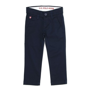 U.S. Polo Assn. Casual Wear Solid Boys Trouser