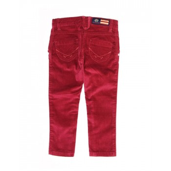U.S. Polo Assn. Casual Wear Solid Girls Trouser
