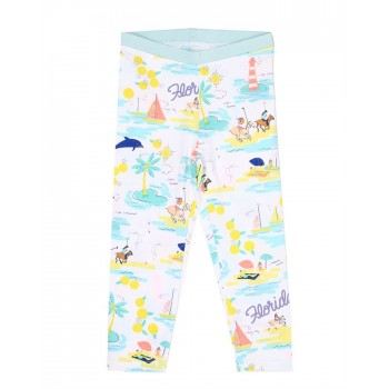 U.S. Polo Assn. Casual Wear Printed Girls Track Pant
