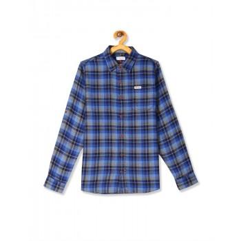 U.S. Polo Assn. Boys Casual Wear Checkered Shirt