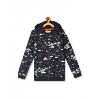 U.S. Polo Assn. Girls Casual Wear Printed Sweatshirt