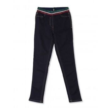 U.S. Polo Assn. Girls Casual Wear Solid Jeans