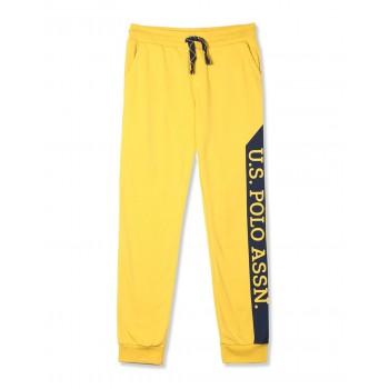 U.S. Polo Assn. Boys Casual Wear Solid Track Pants
