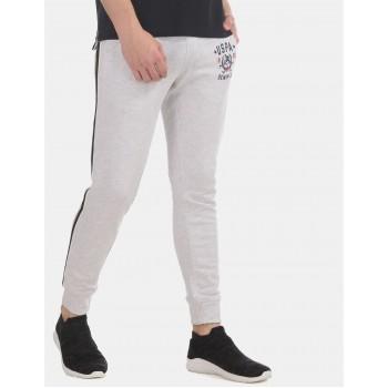 U.S  Polo Assn. Men Casual Wear Grey Joggers