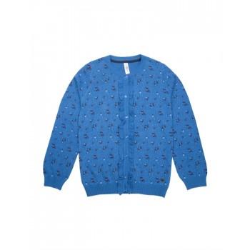 U.S. Polo Assn. Casual Wear Printed Girls Sweater