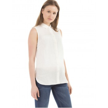 U.S. Polo Assn. Casual Wear Solid Women Shirt