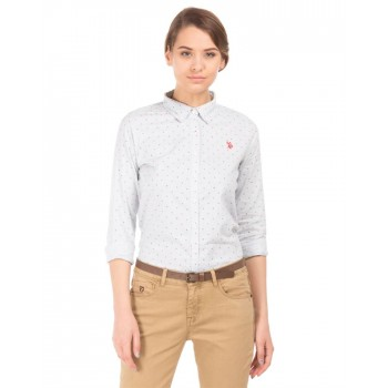 U.S. Polo Assn. Casual Wear Striped Women Shirt