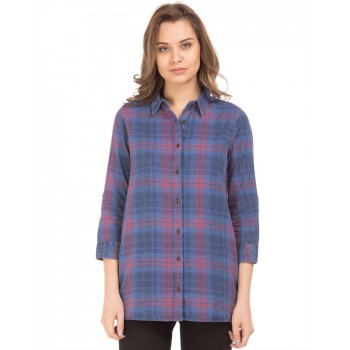 U.S. Polo Assn. Casual Wear Checkered  Women Shirt