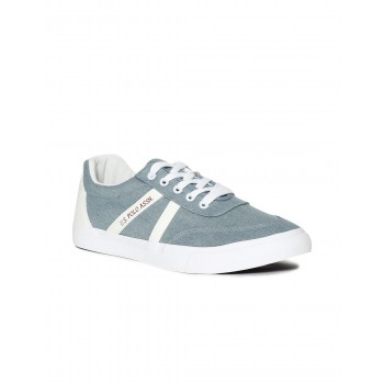 U.S. Polo Assn. Footwear Men Sky Blue Lace Up Sneakers