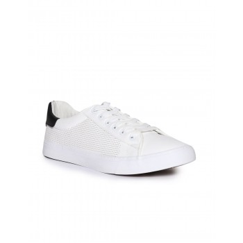 U.S. Polo Assn. Footwear Men White Lace Up Sneakers