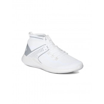 U.S. Polo Assn. Footwear Men White Lace Up Trainer Shoes