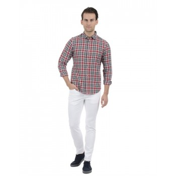 United Colors of Benetton Men Casual Wear Checkered Multicolor Shirt